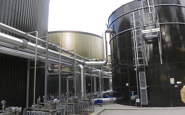 Wiltshire's first biogas facility